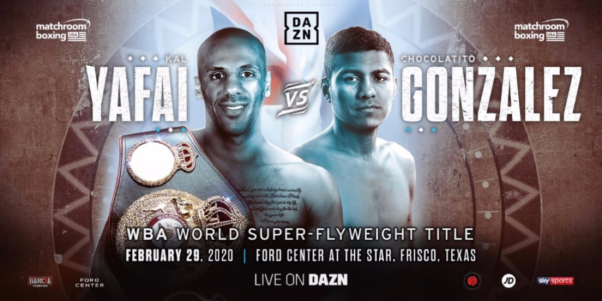 Yafai vs Gonzalez  – DAZN, Sky Sports