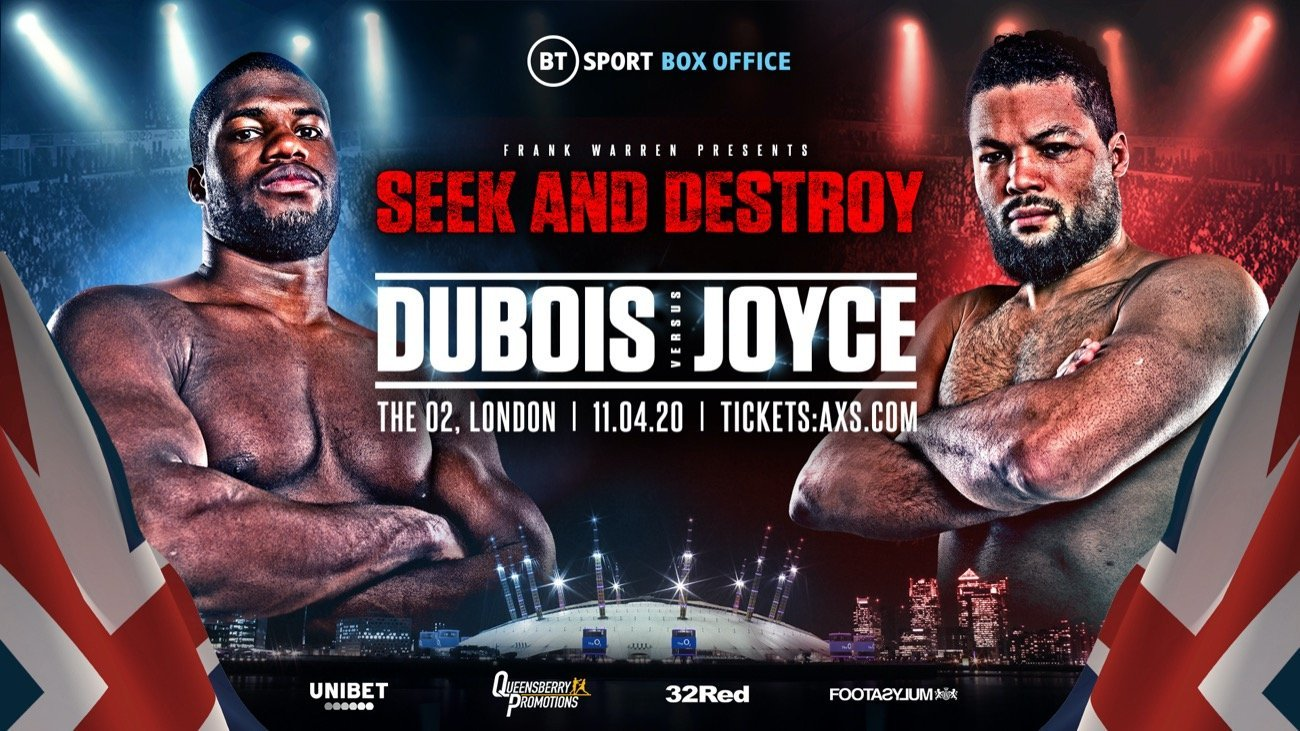 Dubois vs Joyce - BT Sport @ The O2, London | England | United Kingdom