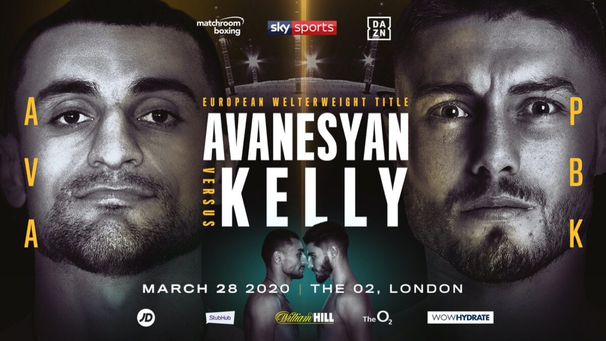 Avanesyan vs Kelly – DAZN, Sky Sports