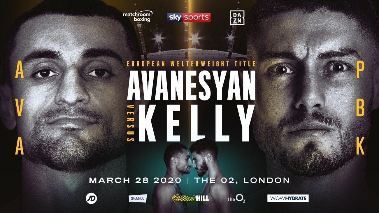 Avanesyan vs Kelly - DAZN, Sky Sports @ The O2 in London | England | United Kingdom