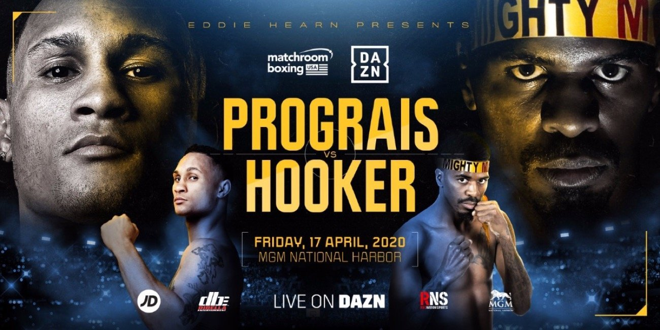 Prograis vs Hooker - DAZN @ GM National Harbor in Oxon Hill, Maryland | Oxon Hill | Maryland | United States