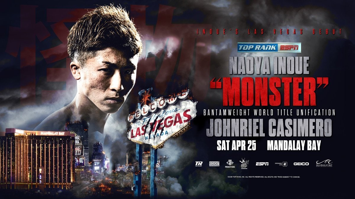 Inoue vs Casimero - ESPN+ @ Mandalay Bay Events Center | Las Vegas | Nevada | United States