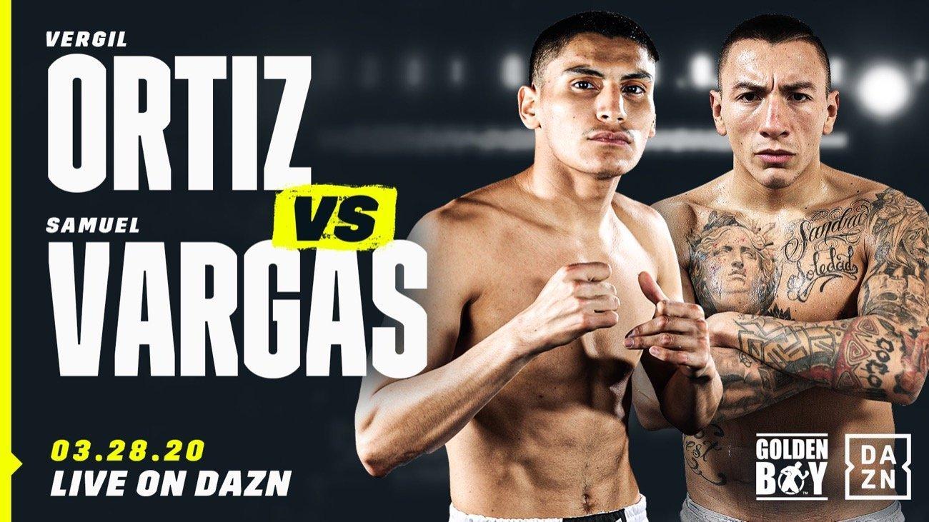 Ortiz vs Vargas - DAZN @ Fabulous Forum Inglewood, Calif. | Inglewood | California | United States