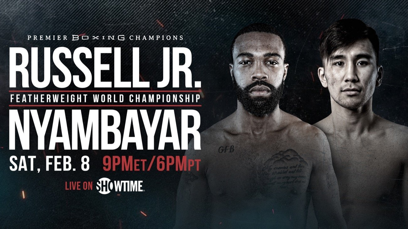 Russell Jr vs Nyambayar - Showtime @ PPL Center in Allentown, Pennsylvania | Allentown | Pennsylvania | United States