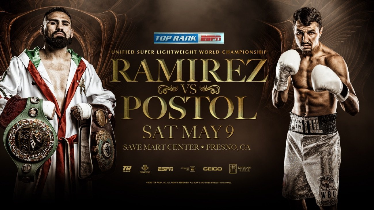 Ramirez vs Postol - ESPN @ Save Mart Center | Fresno | California | United States