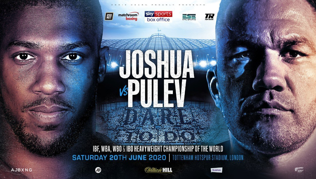 Joshua vs Pulev - DAZN, Sky Sports @ Tottenham Hotspur Stadium | England | United Kingdom