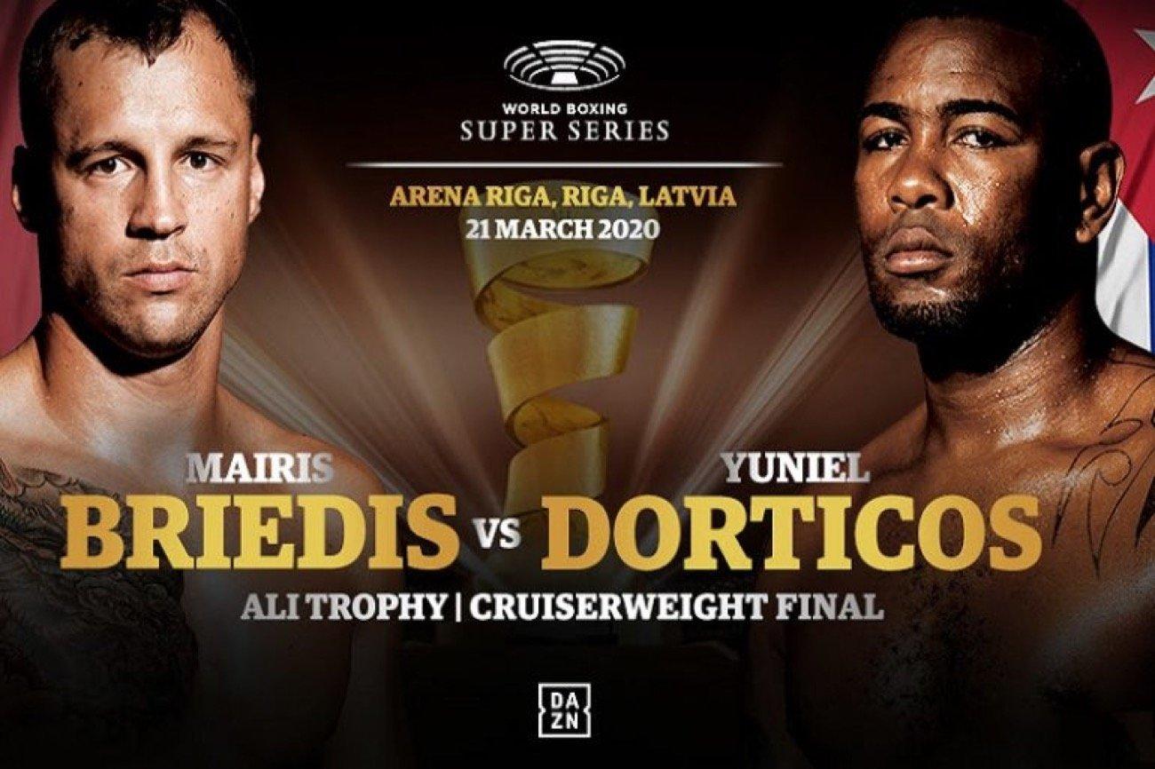 Briedis vs Dorticos - DAZN ***Postponed *** @ Arena Riga | Rīga | Latvia