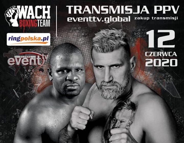 Wach vs  Johnson - EventTV. Global - June 12 @ Pałac w Konarach | Stopnica | Świętokrzyskie | Poland
