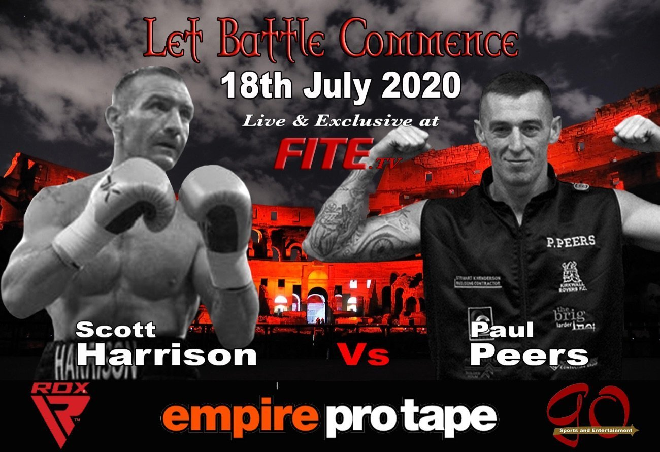 Harrison vs Peers - FITE - July 18 @ Northern Hotel in Aberdeen | Scotland | United Kingdom