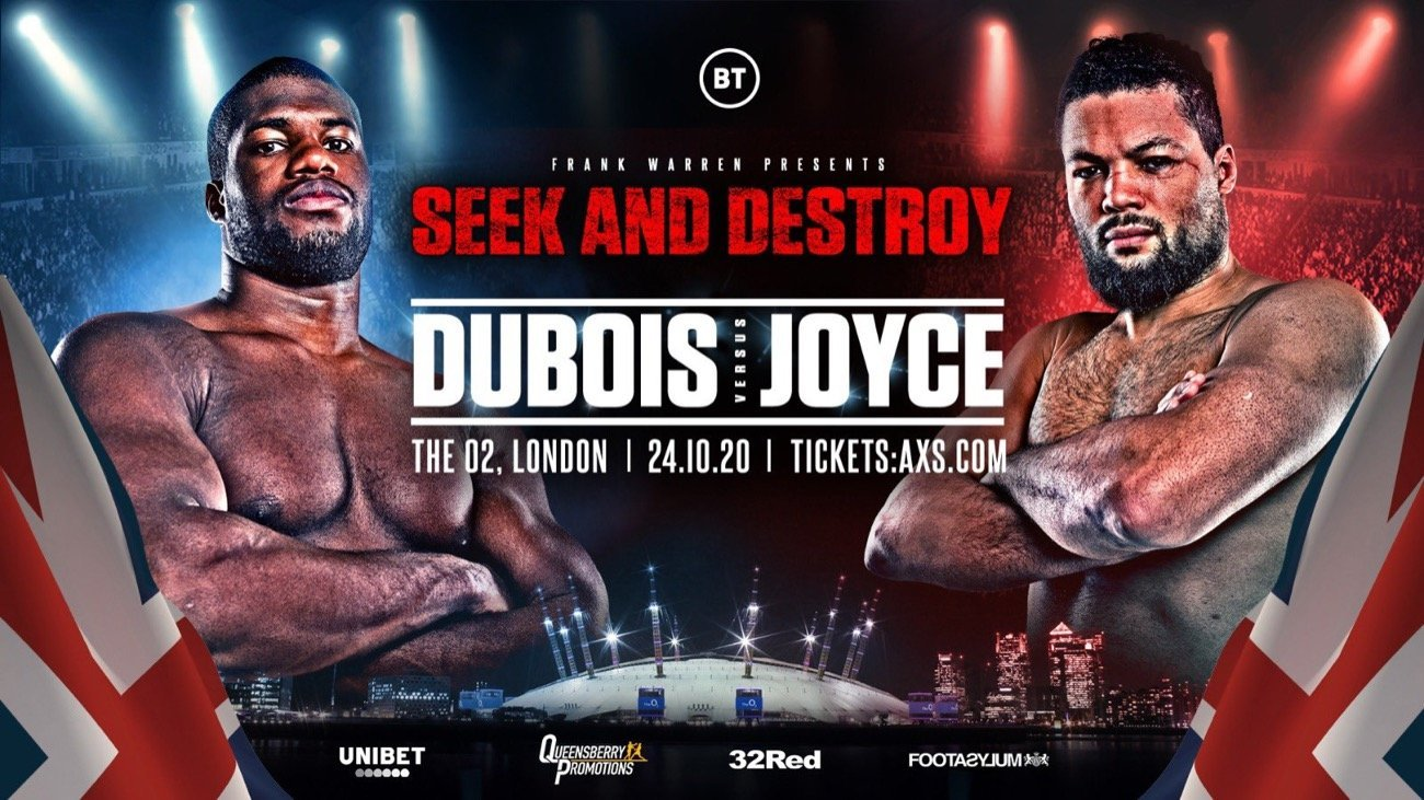 Dubois vs Joyce - BT Sport - Oct 24 @ The 02 Arena, London | England | United Kingdom