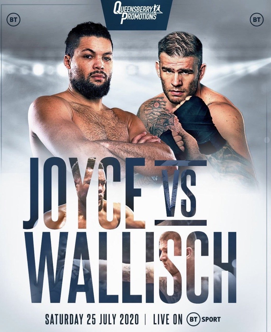 Joyce vs Wallisch - BT Sport - July 25 @ London | London | England | United Kingdom