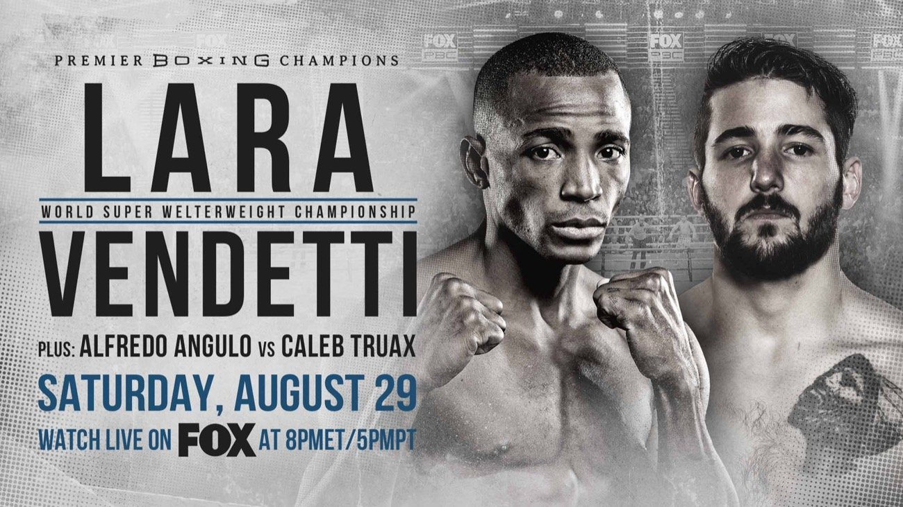 Lara vs Vendetti - FOX PBC - Aug. 29 @ Microsoft Theater in Los Angeles | Los Angeles | California | United States