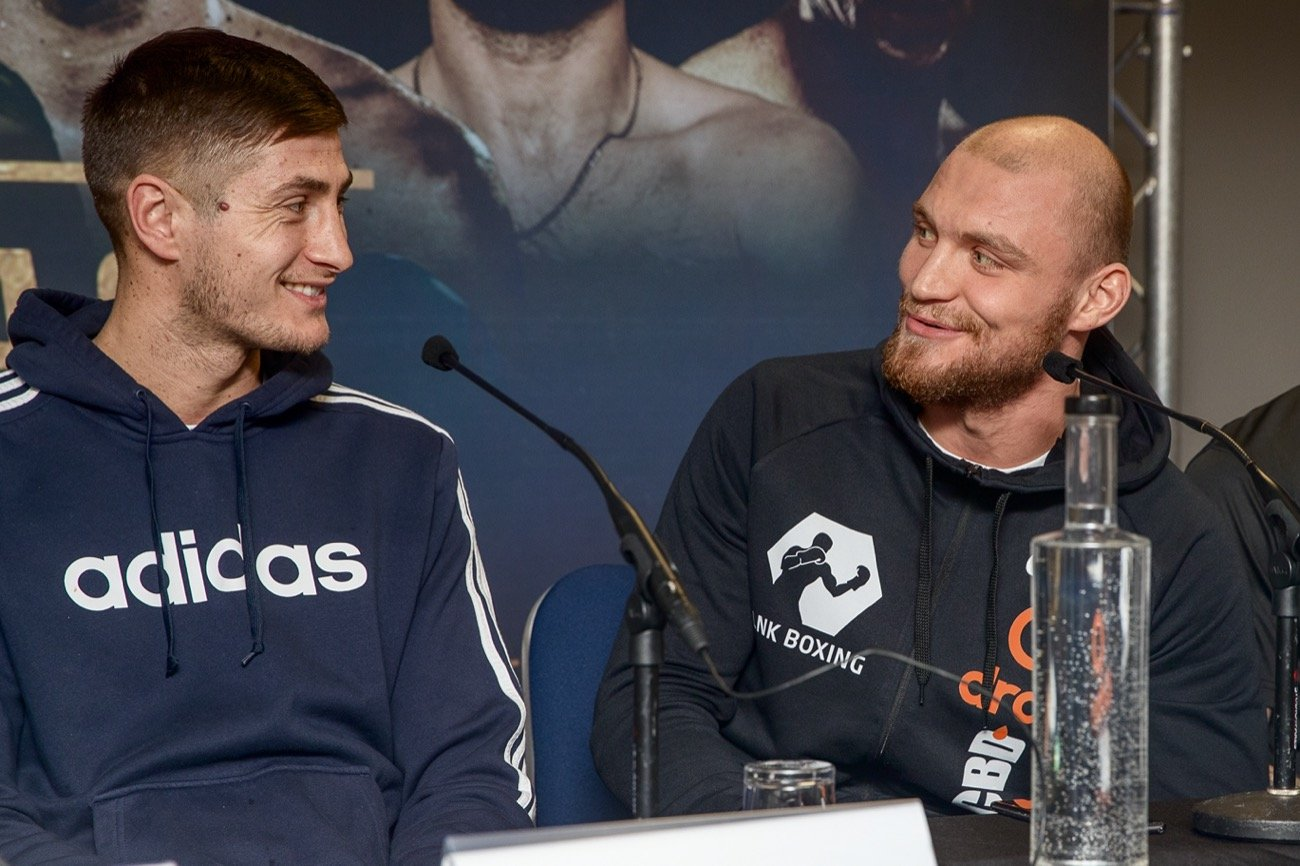 Ricards Bolotniks has fired back at Hosea Burton ahead of their #GoldenContract light-heavyweight semi-final showdown - telling him to prepare for a 'gladiatorial battle.'