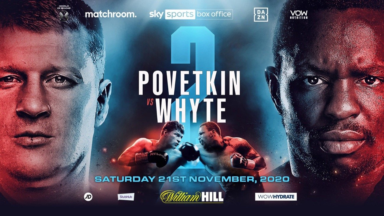 Povetkin vs Whyte 2 - Sky Box Office - November 21 @ London, UK | London | England | United Kingdom