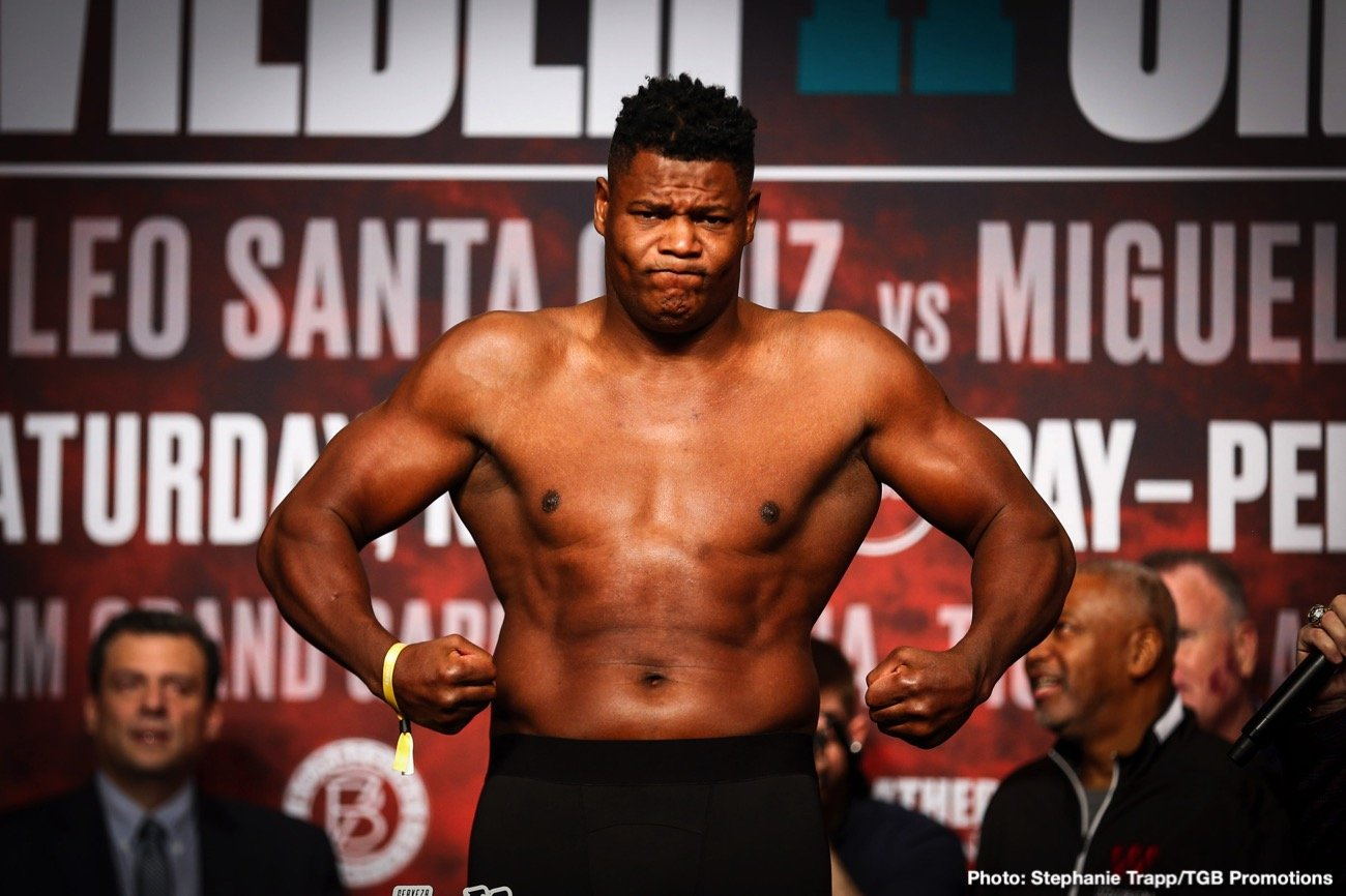 Ortiz vs Flores - FOX PBC - Nov 7 @ Microsoft Theater in Los Angeles | Los Angeles | California | United States
