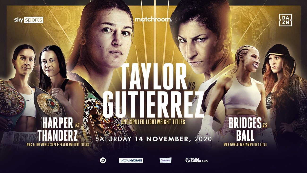 Taylor vs Gutierrez  - Sky Sports, DAZN - Nov. 14 @ London, UK | London | England | United Kingdom