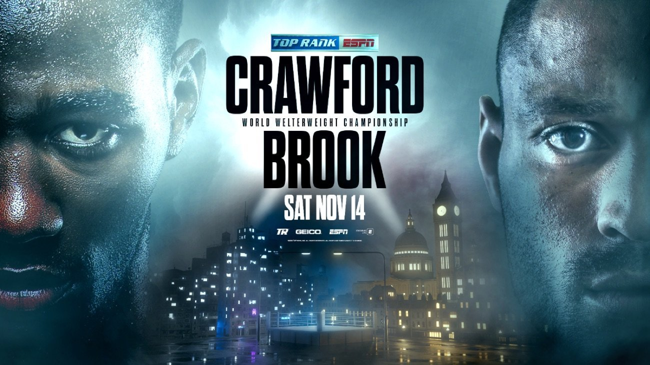 Crawford vs  Brook -  ESPN, Premier Sports 1 - Nov 14 @ MGM Grand Las Vegas | New York | United States