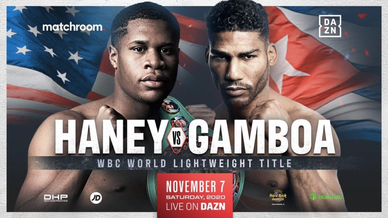 Haney vs Gamboa - DAZN - November 7 @ Seminole Hard Rock Hotel & Casino Hollywood, Florida, | Hollywood | Florida | United States