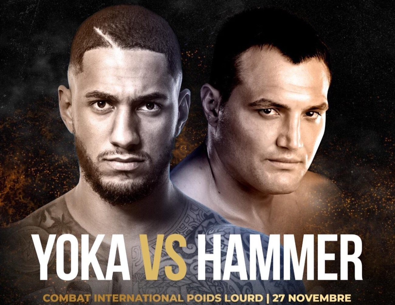 Yoka vs Hammer - ESPN+ - Nov. 27 @ H Arena in Nantes, France